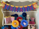 Circus themed Birthday Party Decorations Circus Party Decorations for Carnival or Circus themed