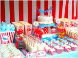 Circus themed Birthday Party Decorations Circus Party Ideas