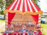 Circus themed Birthday Party Decorations Kara 39 S Party Ideas Circus Big top Birthday Party Kara 39 S
