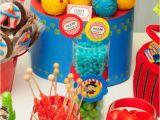 Circus themed Birthday Party Decorations Kara 39 S Party Ideas Circus Clown Boy themed 2nd Birthday