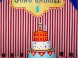 Circus themed Birthday Party Decorations Kara 39 S Party Ideas Circus themed 1st Birthday Party Kara