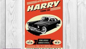 Classic Car Birthday Invitations Best 25 21st Birthday Invitations Ideas On Pinterest