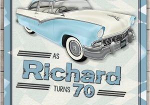 Classic Car Birthday Invitations Classic Car Birthday Invitation Vintage Car Adults