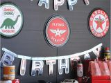 Classic Car Birthday Party Decorations Kara 39 S Party Ideas Classic Car Garage Birthday Party