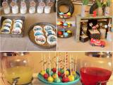 Classic Car Birthday Party Decorations Kara 39 S Party Ideas Vintage Radiator Springs Cars Boy