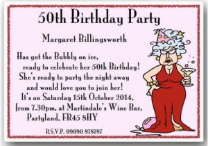 Clever 50th Birthday Invitation Wording Funny Ideas Dolanpedia