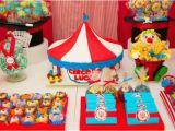 Clown Birthday Party Decorations Kara 39 S Party Ideas Circus Carnival 1st Birthday Boy Girl