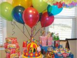 Clown Decorations for Birthday Party Circus or Clown Party theme so Colorful Perfect for A