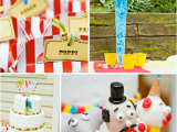 Clown Decorations for Birthday Party Kara 39 S Party Ideas Circus Carnival Decorations Boy Girl