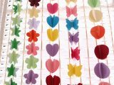 Color Paper Decorations Birthday 1 5m Hanging Paper Garland Chain Wedding Birthday Party