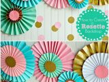 Color Paper Decorations Birthday Best 25 Paper Decorations Ideas On Pinterest Flowers