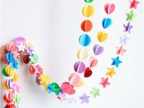 Color Paper Decorations Birthday Colored Paper Pulled Flower Decoration Wedding Navidad