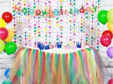 Color Paper Decorations Birthday Paper Birthday Decoration Sets Happy Birthday Banner Paper