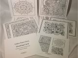 Color Your Own Birthday Cards Color Your Own Greeting Cards Set 5