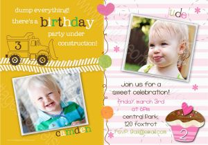 Combined Birthday Party Invitation Wording Joint Invitations Bagvania Free Printable