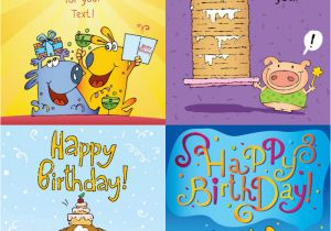 Comic Birthday Cards Free Birthday Vector Graphics Blog Page 2