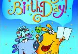 Comic Birthday Cards Free Funny Cartoon Birthday Cards Vector 01 Vector Birthday