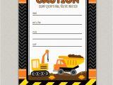Construction Birthday Invitations Free Printable Free Construction Birthday Party Printables Luvibee Kids