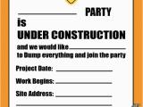 Construction Birthday Invitations Free Printable Free Printable Construction Party Invitation Printable
