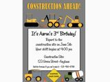 Construction Birthday Invitations Free Printable Printable Construction Birthday Invitation Heavy Equipment