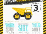 Construction Invites Birthday Party This Construction Birthday Party Will Go Down as One Of