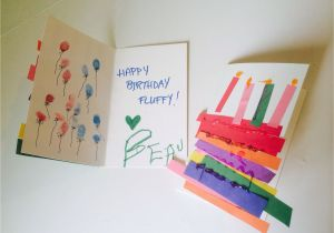 Construction Paper Birthday Card Ideas Cards Made By Toddlers Rainbow Cake W