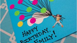 Construction Paper Birthday Card Ideas Easy Balloon Birthday Card Inner Child Fun