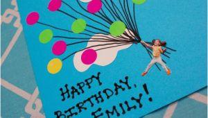 Construction Paper Birthday Card Ideas Easy Balloon Birthday Card Inner Child Fun