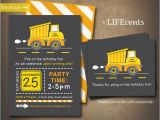 Construction themed Birthday Party Invitations 100 Best Images About Caterpillar themed Birthday Party On