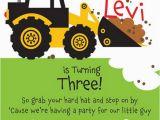 Construction themed Birthday Party Invitations 40 Construction themed Birthday Party Ideas Hative