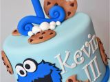 Cookie Monster 1st Birthday Decorations Cookie Monster Birthday Cakes