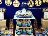 Cookie Monster 1st Birthday Decorations Cookie Monster themed 1st Birthday Time2partay Com