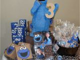 Cookie Monster Birthday Party Decorations Cookie Monster Birthday Party Ideas Photo 1 Of 29