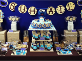 Cookie Monster Birthday Party Decorations Cookie Monster themed 1st Birthday Time2partay Com