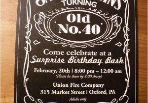Cool 40th Birthday Invitations On Pinterest