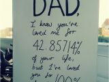 Cool Birthday Cards for Dad Clever Birthday Card for Dad Stating the Percentage We Ve