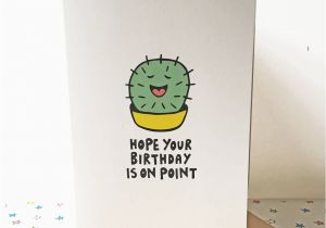 Cool Birthday Cards Online Cactus Card By Ladykerry