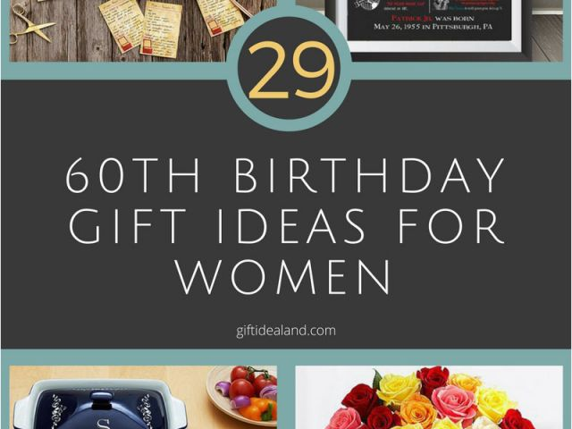 Cool Birthday Gift Ideas For Her 29 Great 60th