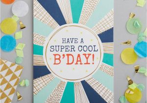 Coolest Birthday Cards Have A Super Cool Birthday Foiled Greetings Card by