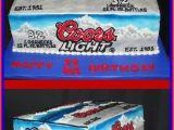 Coors Light Birthday Meme Coors Light Cake Cakes Pinterest Coors Light Cake