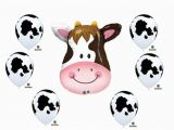 Cow Birthday Decorations Cow Print Birthday Party Baby Shower Farm Balloons
