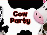 Cow Birthday Decorations Cow Print Birthday Party Supplies Invitations Tableware