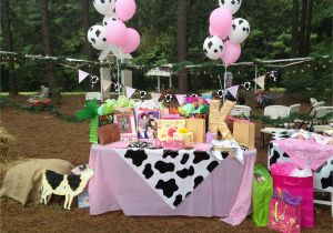 Cow Birthday Decorations Cowgirl Party And Centerpieces Kiara 39 S