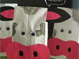 Cow Birthday Decorations Cute Cow Treat Bags Make and Takes