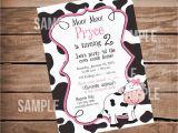 Cow Birthday Decorations Moo Moo Cow Farm theme Birthday Party Invitation Party Til