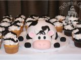 Cow Decorations for Birthday Party Cow Ph D Serts Cakes