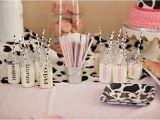 Cow Decorations for Birthday Party Kara 39 S Party Ideas Moomoos Tutus themed Birthday Party