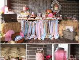 Cow Decorations for Birthday Party Kara 39 S Party Ideas Vintage Cowgirl Party with Lots Of