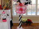Cow Decorations for Birthday Party Lauren 39 S Cow themed 1st Birthday Party Balloon Decor