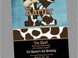 Cow Print Birthday Invitations Cowboy Cowgirl Cow Print Birthday Invitation